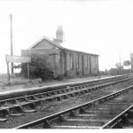 Haxey Junction station south of Graizelound already looking rather untidy possibly about 1930