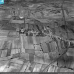 Birds eye view of Haxey and the surrounding fields from 1949. The strip field system is more in evidence here than in recent photos.