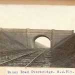 Haxey Road overbridge after completion about 1907