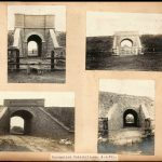 Four examples of Occupation under-bridges two bottom photos of which are between Haxey and Graizelound
