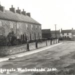 Goodburn Row, a terrace in Nethergate, Westwoodside about 1910